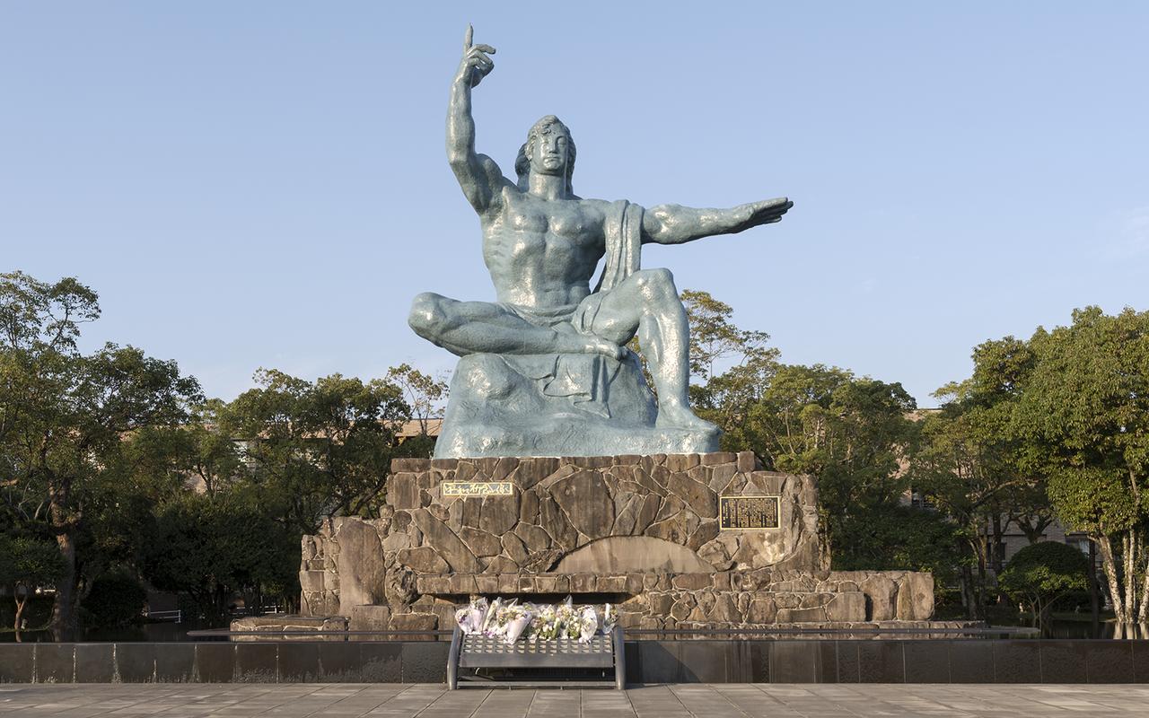 Nagaski Peace Stature